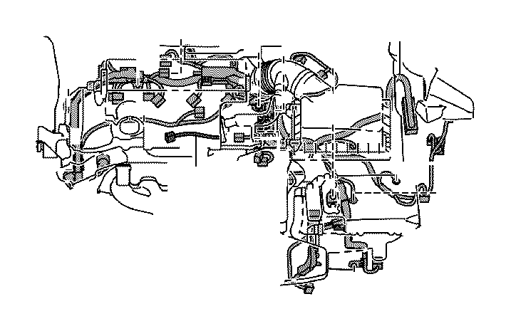 Toyota Camry Engine Wiring Harness